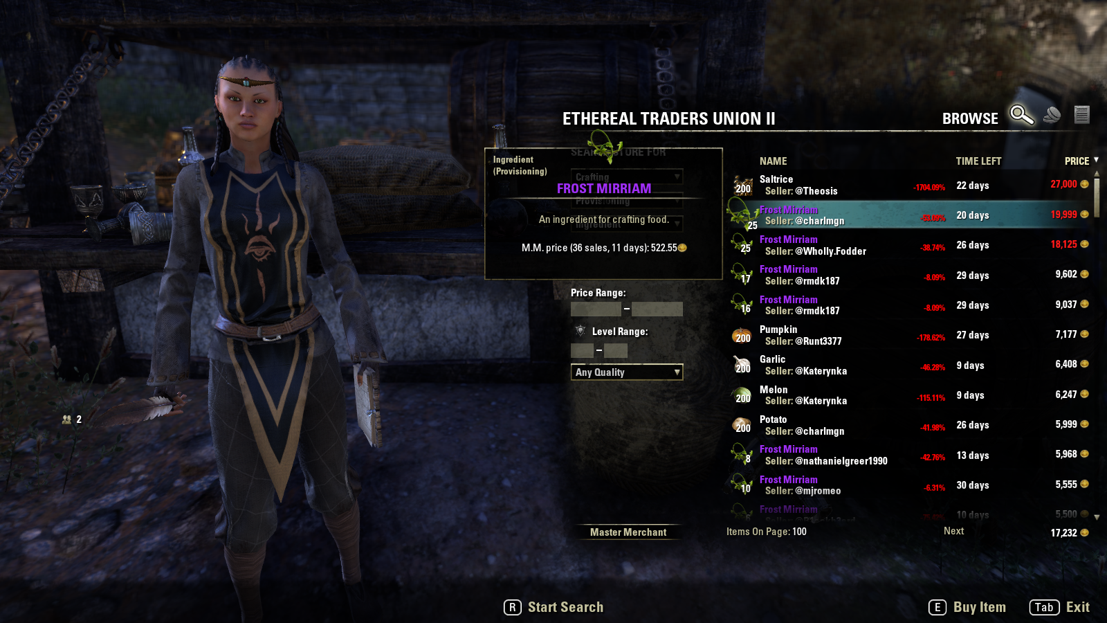 Provisions eso gold guide epic food ingredients have an epic price forumfinder Gallery