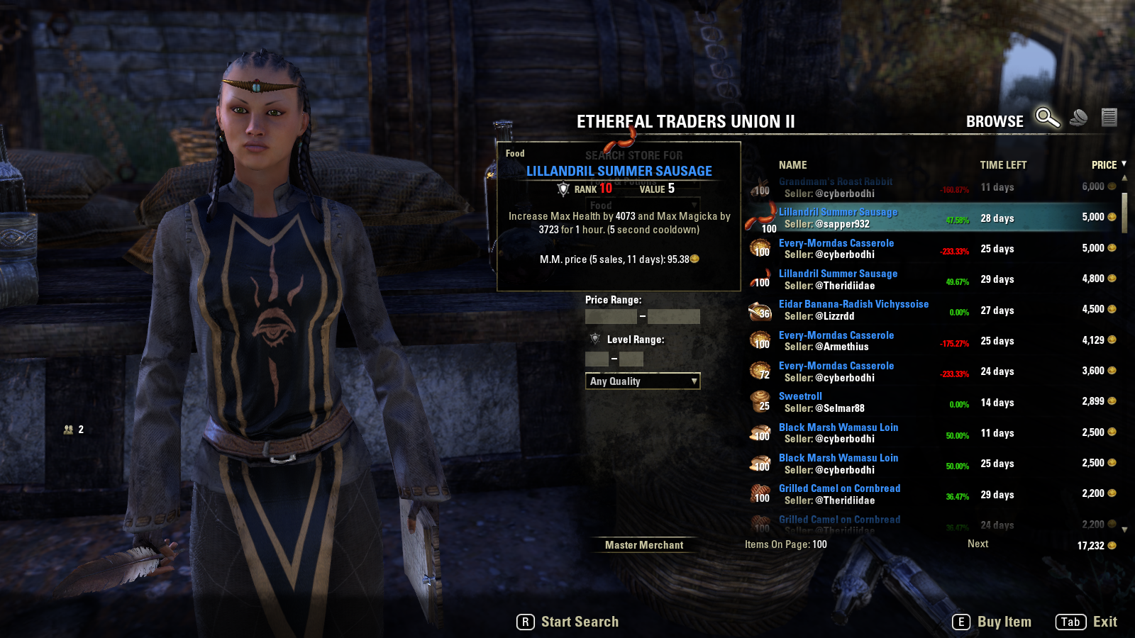 Provisions eso gold guide most food is fairly cheap to make and some sell quite well forumfinder Gallery