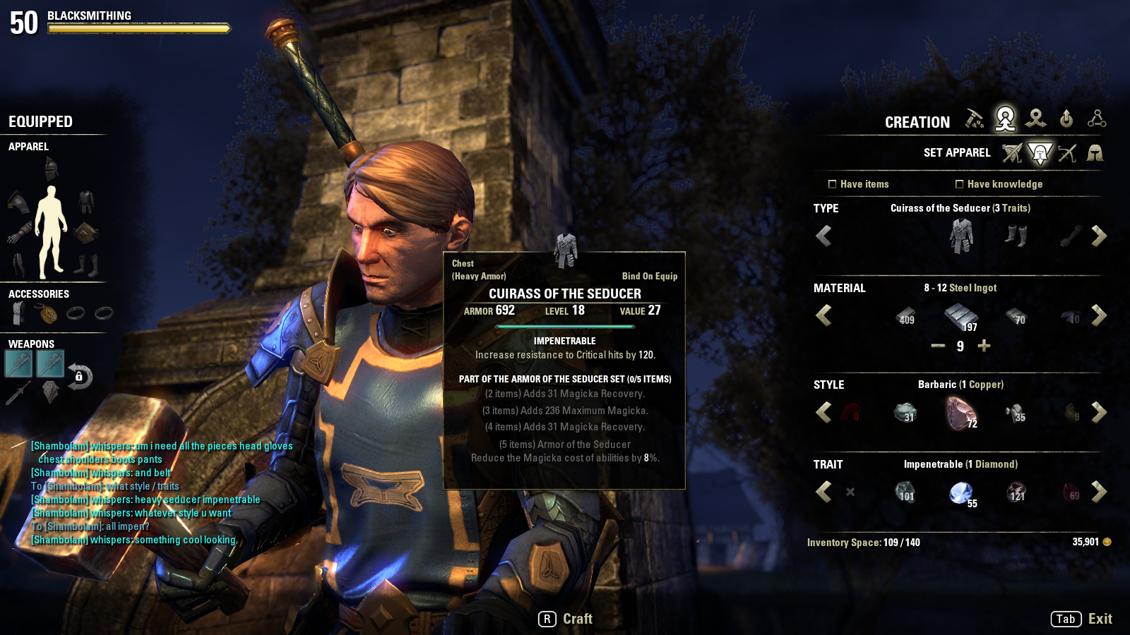 Crafting Eso Gold Guide